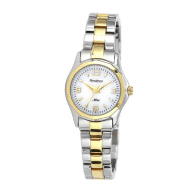 jcpenney.com | Armitron® Now® Womens Two-Tone Mother-of-Pearl Watch