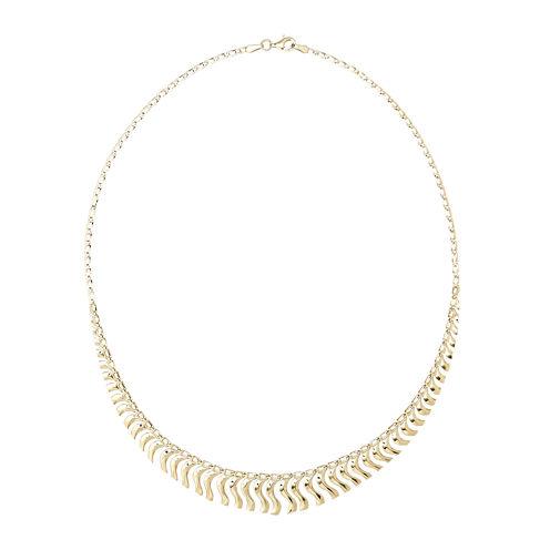 14K Gold Cleopatra Necklace