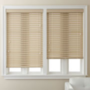 "JCPenney Home™ 2"" Smooth Faux-Wood Blinds"