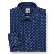 JF J. Ferrar® Slim-Fit Dress Shirt