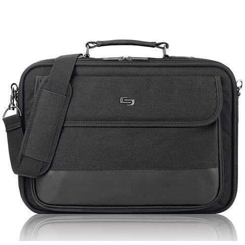 "SOLO Classic 15.6"" Laptop Slim Briefcase"
