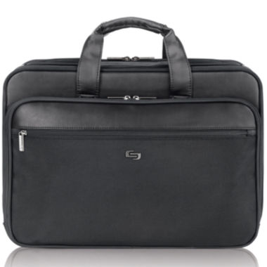"jcpenney.com | SOLO Classic 16"" Smart Strap® Laptop Briefcase"