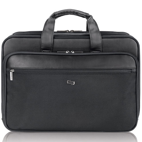 "SOLO Classic 16"" Smart Strap® Laptop Briefcase"