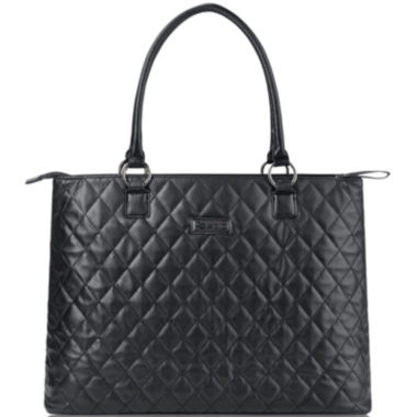 """SOLO Classic 15.6"""" Quilted Laptop Tote  found at @JCPenney"""