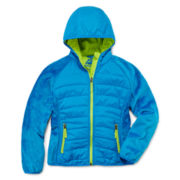 Snozu Terry Fleece Hooded Jacket - Girls 5-16