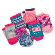 Capelli of New York Wild Thing 6-pk. No-Show Socks - Girls 4-14