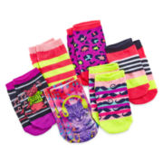 Capelli Party Kitty 6-pk. Socks - Girls 4-14