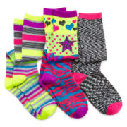 Capelli Rocker Chick 3-pk. Knee-High Socks - Girls 4-14