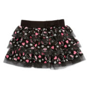 Hello Kitty® Little Super Star Tiered Skirt - Girls 2t-6