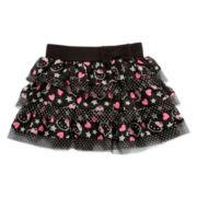 Hello Kitty® Little Super Star Tiered Skirt - Girls 2t-6