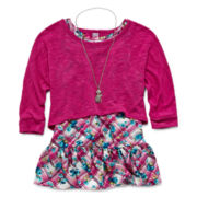 Knit Works 3-pc. Cardigan Set - Girls 7-16