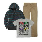 Super Mario Bros. Tee, Zoo York® Hoodie or Vans® Pants - Boys