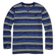 Zoo York® Long-Sleeve Striped Knit Tee – Boys