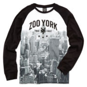 Zoo York® Long-Sleeve Graphic Knit Tee – Boys