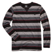 Zoo York® Long-Sleeve Striped Knit Tee - Boys