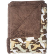 Duck Dynasty® Fleece Sherpa Throw