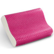 Memory Foam Contour Breast Cancer Awareness Pillow