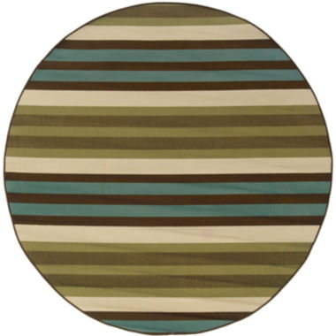 jcpenney.com | Covington Home Montego Stripe Indoor/Outdoor Round Rug