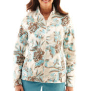 Alfred Dunner® Grand Canyon Embroidered Fleece Jacket