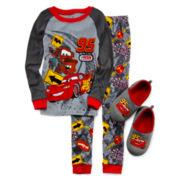 Disney® Cars Pajama and Slipper Set - Boys