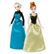 Disney Collection 2-pk. Frozen Elsa and Anna Doll Set - Girls
