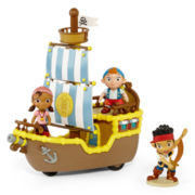 Disney Collection Jake and the Neverland Pirates 4-pc. Playset
