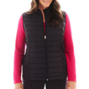 Made For Life™ Channel Quilted Vest - Plus