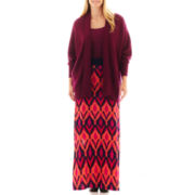 a.n.a® Cocoon Cardigan, Strappy Cami or Maxi Skirt - Plus