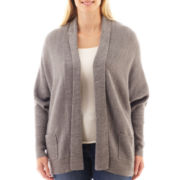 a.n.a® Long-Sleeve Cocoon Cardigan Sweater - Plus