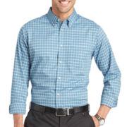 Van Heusen® Long-Sleeve Southern Check Woven Shirt