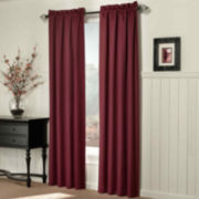 Sun Zero™ Coleman Room-Darkening Rod-Pocket Curtain Panel