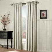 Sun Zero™ Coleman Room-Darkening Rod-Pocket Curtain Panel