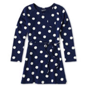 Arizona Dot Print Dress - Girls 6-16