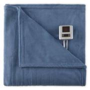 Biddeford® Plush Heated Blanket