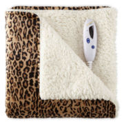 Biddeford® Micro Mink Sherpa Heated Throw
