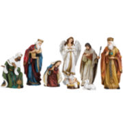 Roman 8-pc. Nativity Set with Angel