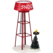 Department 56 Peanuts Village Snoopy Water Tower