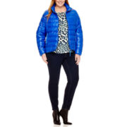 Stylus™ Puffer Jacket, Woven T-Shirt or Skinny Jeans - Plus