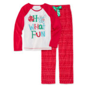 Sleep On It Oh What Fun Pajamas - Preschool Girls 4-6x