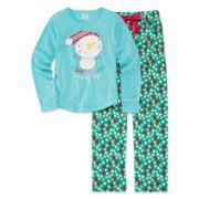 Sleep On It Snowman Pajamas - Girls 7-14