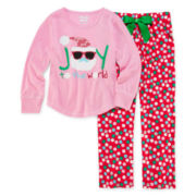 Sleep On It Joy Pajamas - Preschool Girls 4-6x