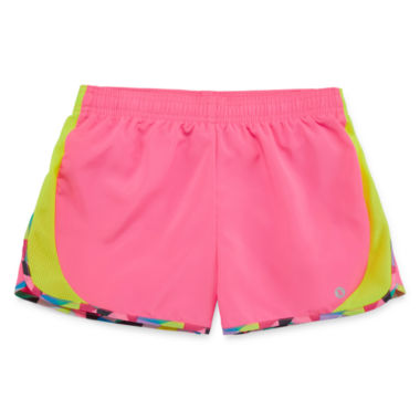 jcpenney.com | Xersion™ Solid Running Shorts - Girls 7-16 and Plus