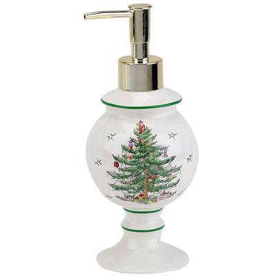 Spode® Christmas Tree Soap Dispenser