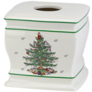 Spode® Christmas Tree Tissue Holder