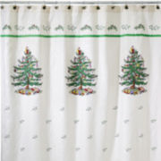 Spode® Christmas Tree Shower Curtain