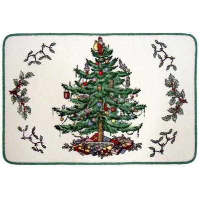 Spode® Christmas Tree Bath Rug