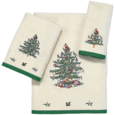 jcpenney.com | Spode® Christmas Tree Bath Towels