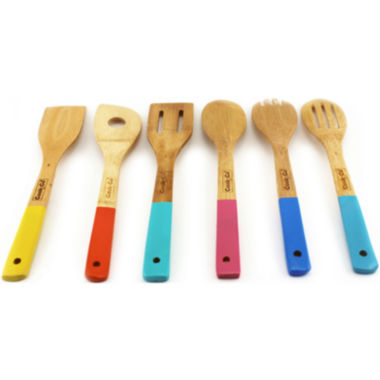 jcpenney.com | BergHOFF® Cook N' Co 6-pc. Bamboo Utensil Set