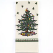 Avanti Spode Christmas Tree Print Kitchen Towel