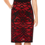 Bisou Bisou® Lace Tube Skirt - Plus
